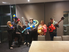 Balloon Twisting Family Fun at Westernpo