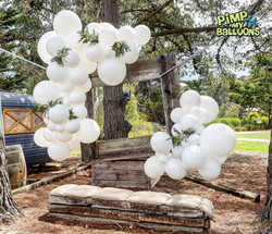 Wedding Balloon Photo Frame at Baxter Ba
