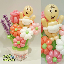 Balloon Baby Bouquet