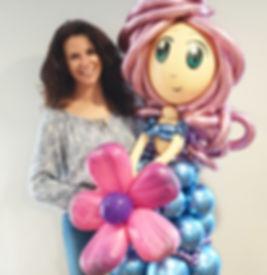 Balloon Princess character by Pimp My Ba