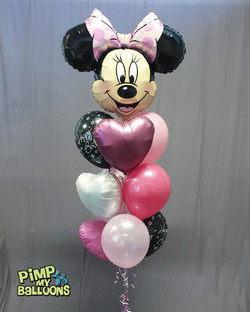 $80 - Minnie Mouse balloon bouquet