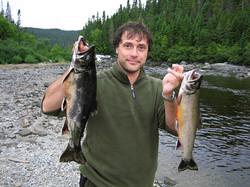 Un bel avant-midi de pêche