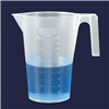 BEAKERS WITH HANDLE - POLYPROPYLENE - EM