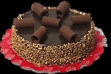 Torta Chocolate Canudo