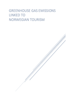 Greenhouse Gas Emissions Linked to Norwegian Tourism