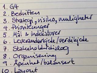 10 kjennetegn på en god samfunnsansvarsrapport