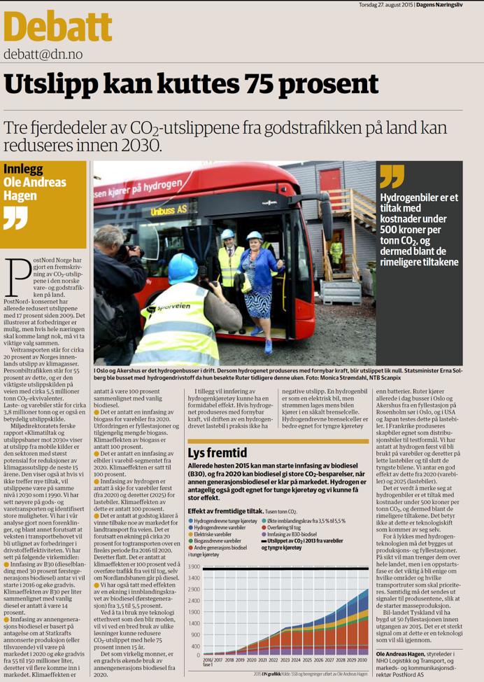 PostNord Norge kommunikasjonsprosjekt