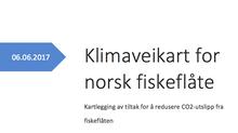 Rapport: Klimaveikart for norsk fiskeflåte. Kartlegging av tiltak som reduserer utslipp av CO2 fra f
