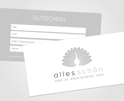 Gutschein Brow Blading Kosmetik Make up Zürich