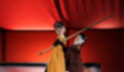 Guignol et Juliette, Roméo et Juliette, spectacle de marionettes