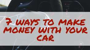 7 Ways You Can Use Your Car To Make Money