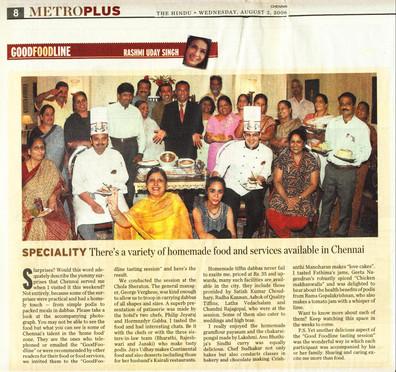 The Hindu Metro Plus Chennai. 2nd August