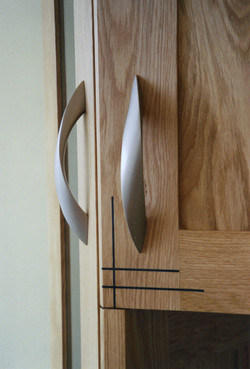 Closeup of Inlay and Handle options