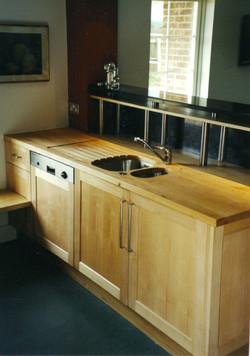 Kitchen bank of units