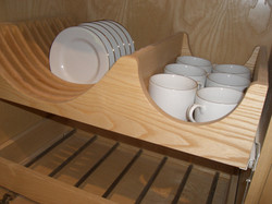 Shelving and Drawers