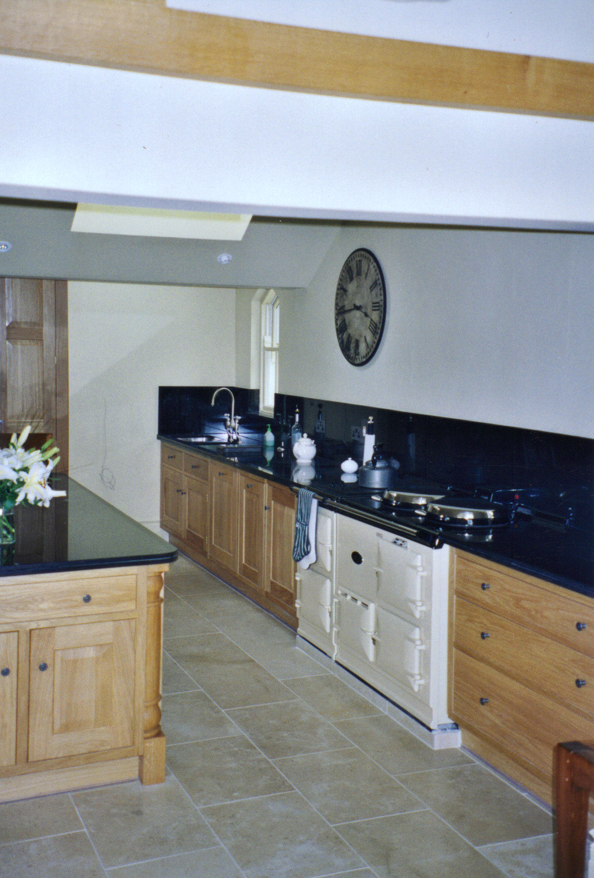 Run of kitchen units