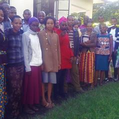 Group photo of students at Jifundishe