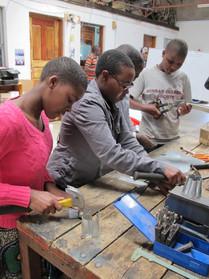 TGFT girls participate at TWENDE Workshop