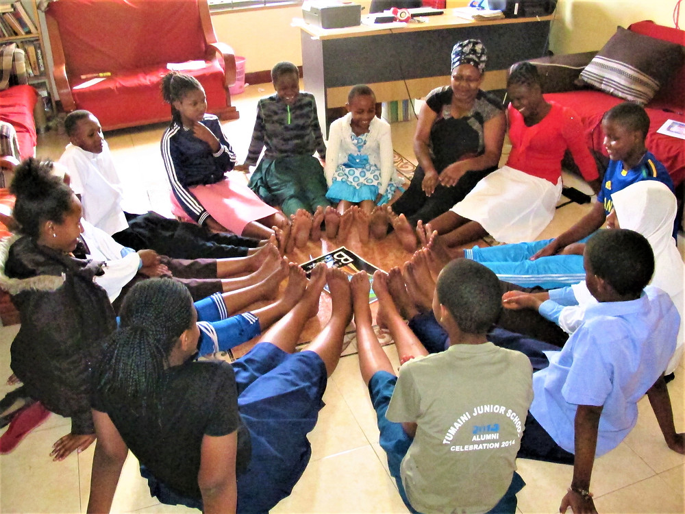 TGFT Students at The Girls Center