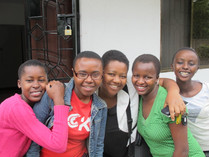 Group Photo at The Girls Center