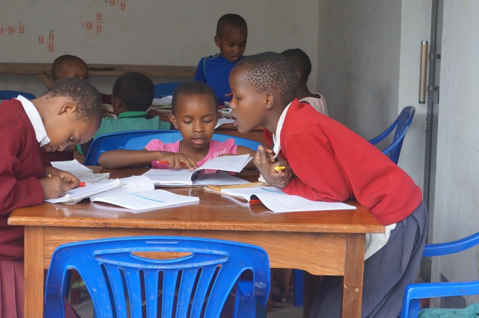 StudyingAfterSchoolLittle Library-1.JPG