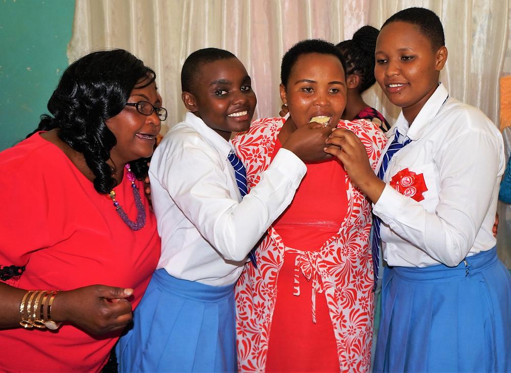 Mama Dorcas, Dorcas, Mama Beatrice and Beatrice