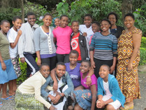 TGFT Girls Group Photograph