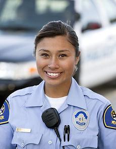 Policewoman Outdoor