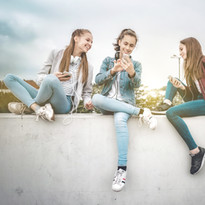Young Women & Devices