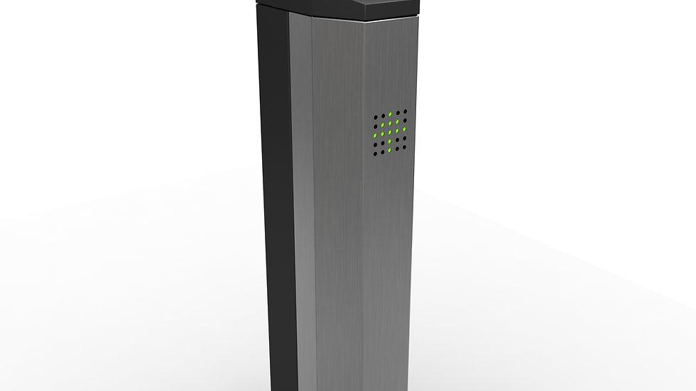 pedestal de control de acceso