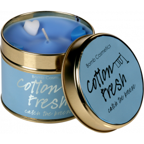 Cotton Fresh Tinned Candle