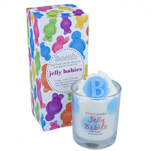 Jelly Babies Piped Glass Candle