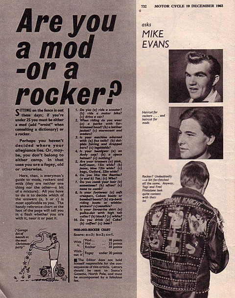 Mods and Rockers Show - The Very Best of the 60s and 70s