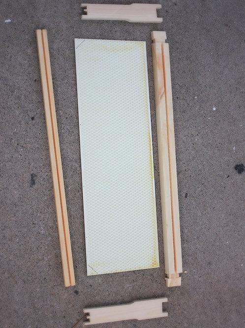 Medium Unassembled Frame with Foundation