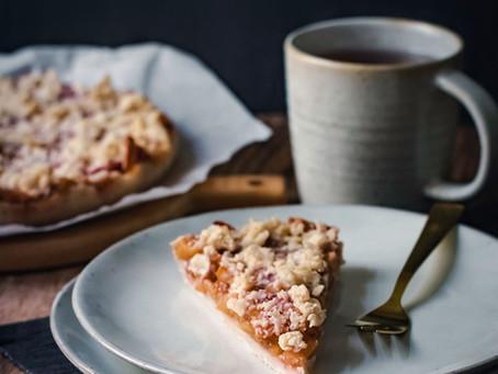 Veganer Apfelstreuselkuchen