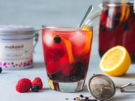 Beerenbowle - eine fruchtige Erfrischung