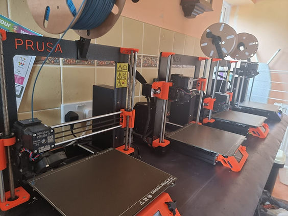 Prusa printer, 3D printers, MK3S+, MK3S, Stiklings