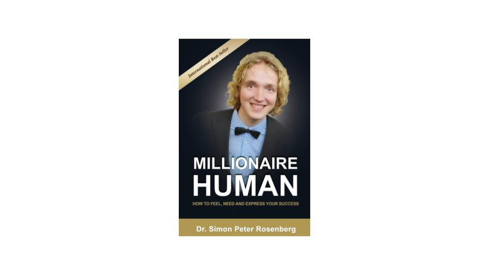 Millionaire Human Book with Special Message by Author Dr Simon Rosenberg