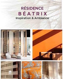 planche decorative residence service senior projet deco beatrix agence dekode deco interieure nantes