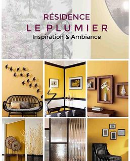 planche decorative residence service senior projet deco le plumier agence dekode deco interieure nantes