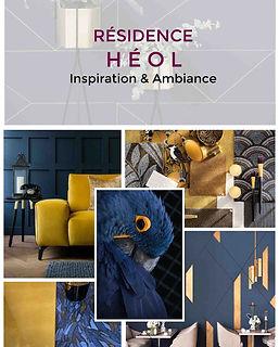 planche decorative residence service senior projet deco eol agence dekode deco interieure nantes