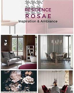 planche decorative residence service senior projet deco rosae agence dekode deco interieure nantes