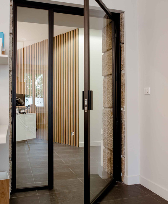 Rénovation d'un bureau étude à Nantes - Accueil