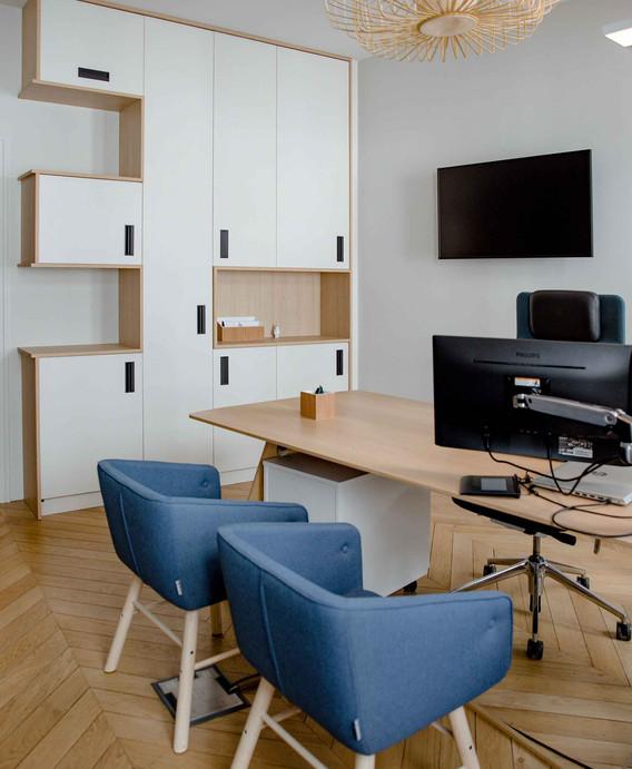 Rénovation d'un bureau étude à Nantes - Bureau