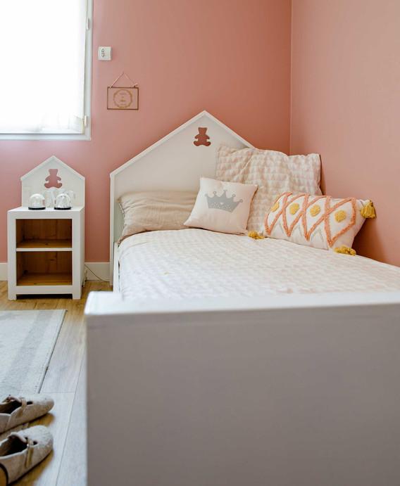 Rénovation d'une maison à Pornichet - Chambre d'enfant