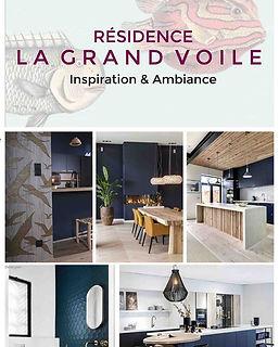 planche decorative residence service senior projet deco la grand voile agence dekode deco interieure nantes