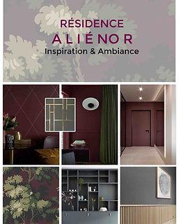 planche decorative residence service senior projet deco alienor agence dekode deco interieure nantes