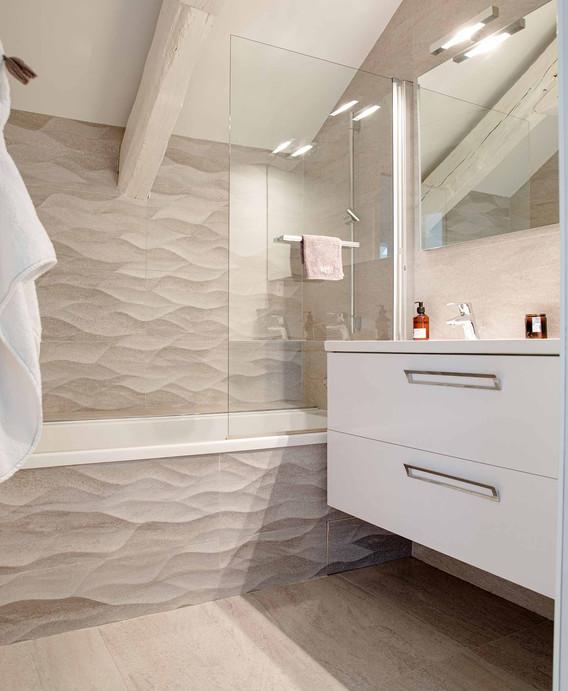 Rénovation d'une maison à Guist'hau Nantes - La salle de bain