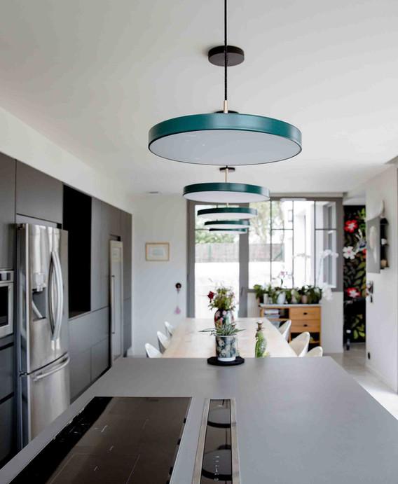 Rénovation d'une maison à Canclaux Nantes - Bureau d'une chambre d'enfant