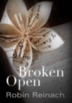 Broken Open, novel, robin reinach author